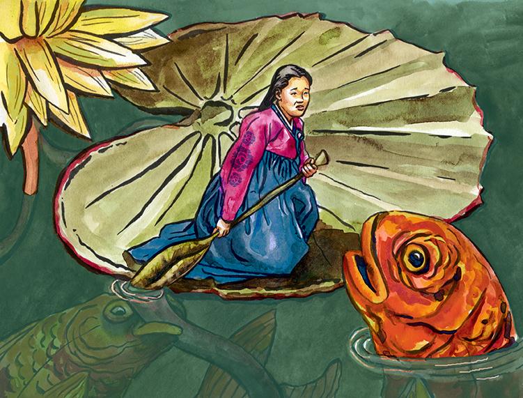Umji Gongju: A Korean Thumbelina Story