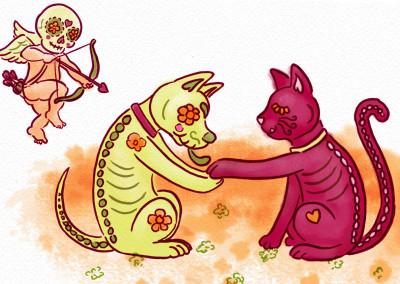 Dia De Los Muertos Valentine