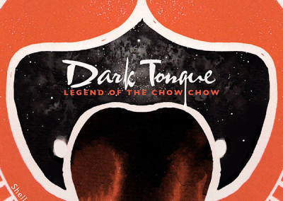 Dark Tongue: Legend of the Chow Chow (Cover)